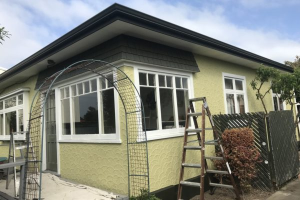 Residential exterior painting service in North Canterbury