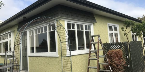 Residential exterior painting service in Christchurch