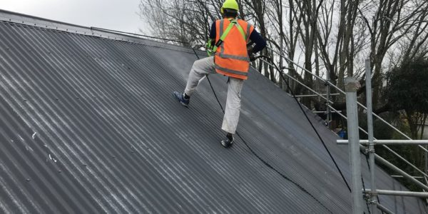 Roof painting service in North Canterbury from MJS Painters