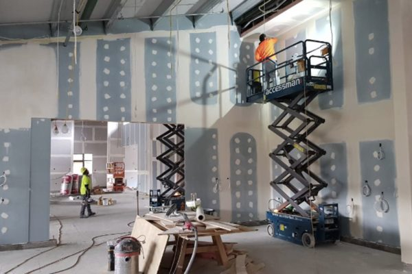 Christchurch commercial interior painting & plastering services