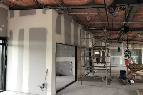 Interior commercial painting and plastering services in North Canterbury