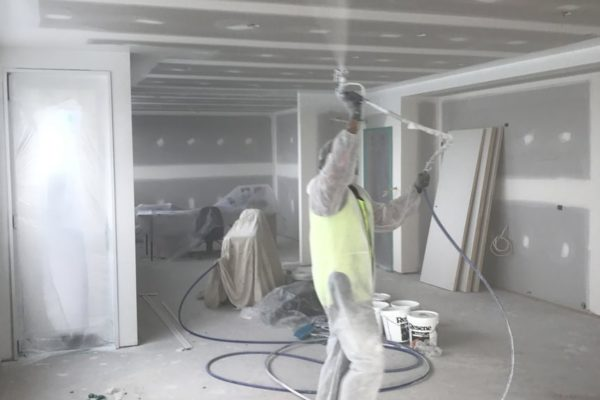 Commercial interior painting & plastering service in Christchurch