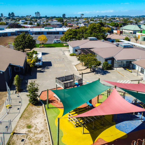 Commercial exterior paint job service in Christchurch from MJS Painters