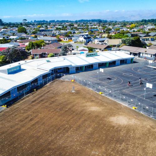 Parkview Commercial exterior paint job service in Christchurch