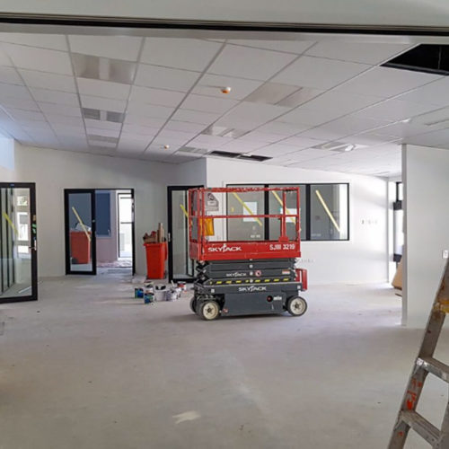 Commercial interior painting service used at Bishopdale School in Christchurch