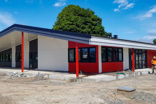 Commercial interior and exterior painting at Bishopdale School in Christchurch