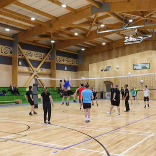 MJS Painting undertook the firecoating job at Kaiapoi High School in North Canterbury