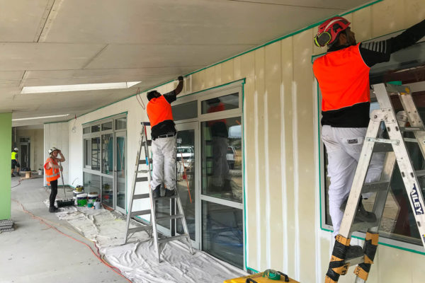Parkview School commercial interior & exterior paint job by MJS Painters