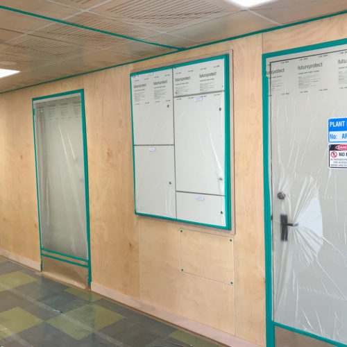 University Of Canterbury, Christchurch getting a full refurbishment, plastering and painting job from MJS Painters