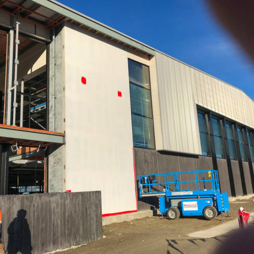 Wanaka New World getting a interior & exterior paint job from MJS Painters