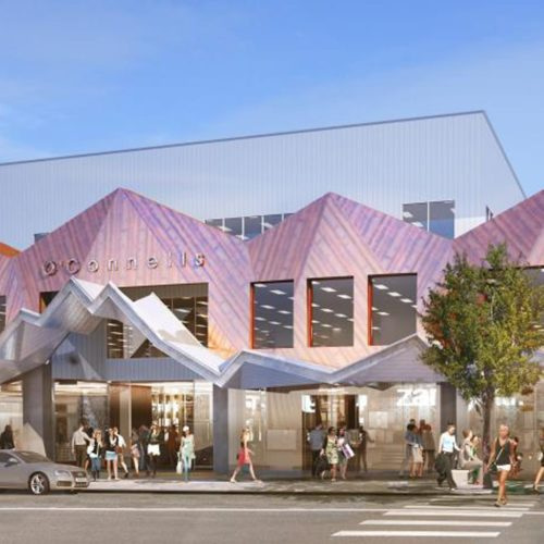 A render of the finished O'Connells mall in Queenstown, Wanaka where we carried out interior and exterior painting