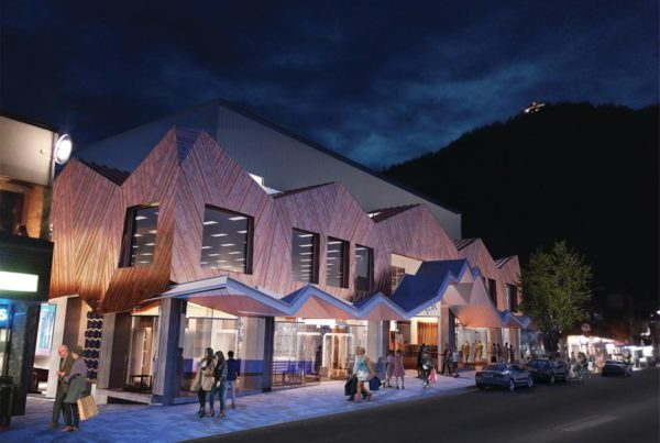 The newly refurbished O'Connells mall in Queenstown, Wanaka where we did interior and exterior painting as well as fire shield coating to the timber